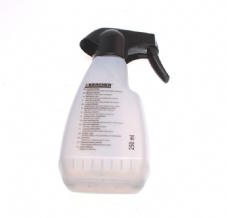 Spray bottle grey blank 250 ml.